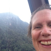 Cable car selfie