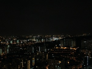 KL Bedroom View at night