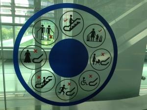 KL beware of escalator
