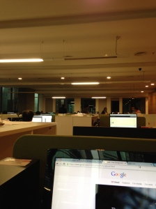 KL from my cubicle