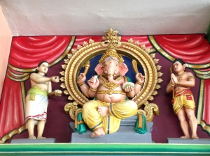 India shrine Ganesha