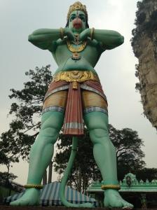 Batu Caves Hanuman