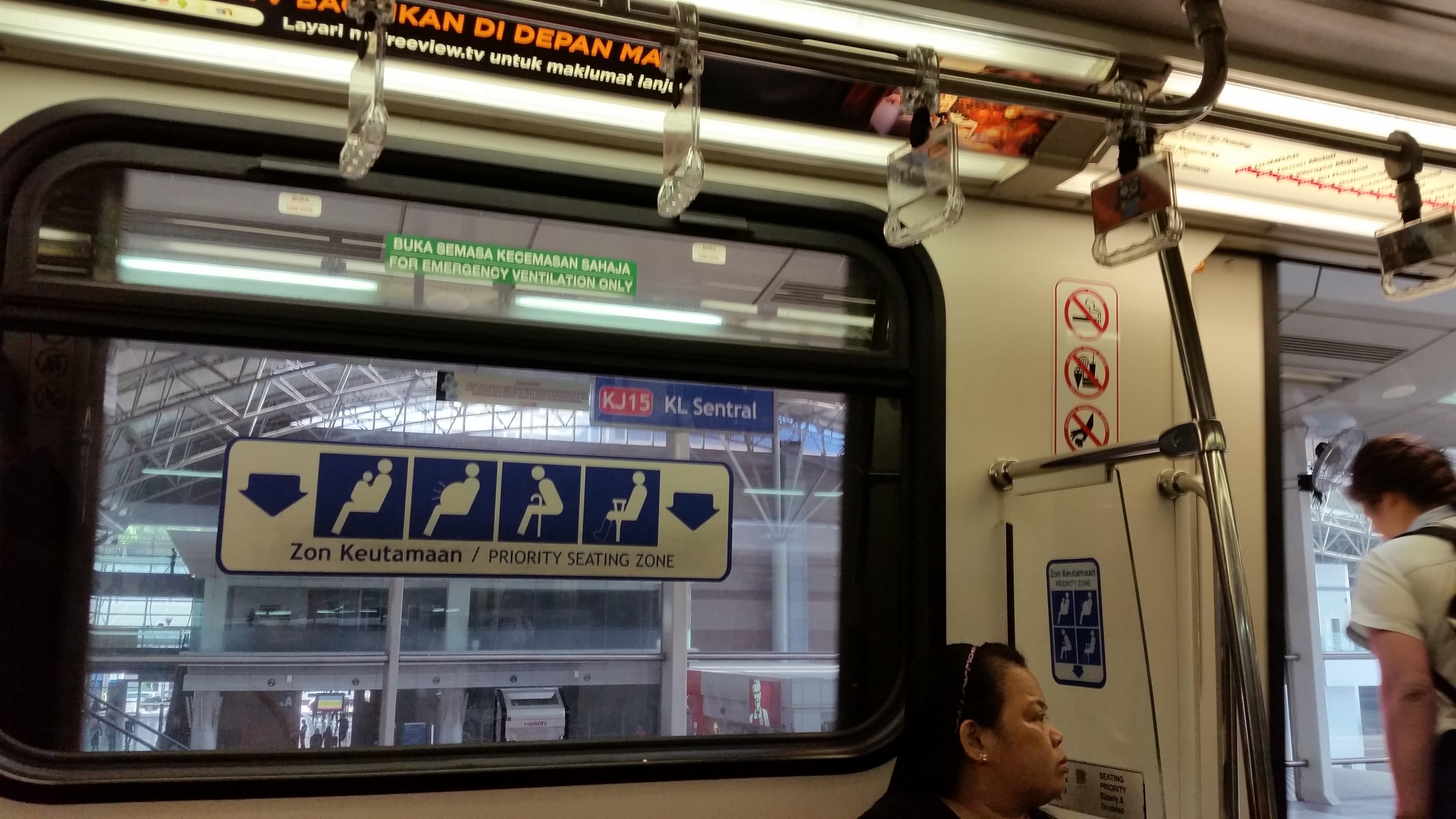 Kl Sentral LRT Station